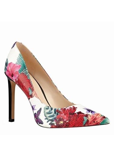 Desenli Stiletto Ayakkabı-Nine West